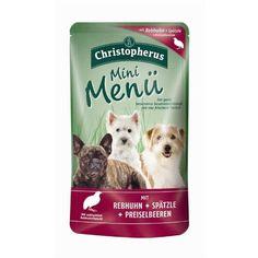 Aus der Kategorie Nassfutter  gibt es, zum Preis von EUR 20,39  Der exklusive Wildgenuss aus natürlichen gesunden Zutaten für alle kleinen Hunderassen