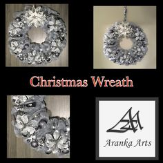 Beautiful home decor wreath for the holiday season #wreath #homedecor #holidaydecorchristmas Accessories Shop, Fashion Accessories, Fashion Rings, Fashion Jewelry, Home Decor Items, Ring Earrings, Washer Necklace, Christmas Wreaths, Holiday