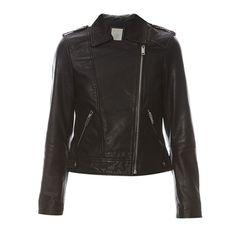 Prezzi e Sconti: #Esprit giacca in pelle nero Donna  ad Euro 201.99 in #Pelle #Cappotti giacconi
