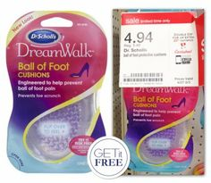 New Coupon: Free Dr. Scholl's Dreamwalk at Target!