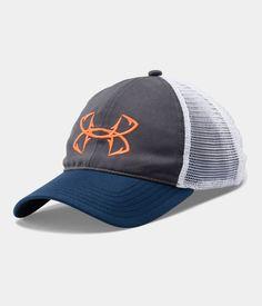 a52822203f7 Men s UA Fish Hook Logo Cap