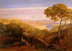 The Prospect – Samuel Palmer © Ashmolean Museum