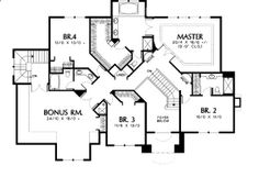 upper floor house blueprint- now Thats a master bedroom! -Home Decor
