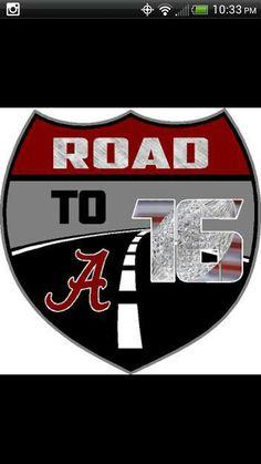 #Roll Tide Alabama Crimson Tide