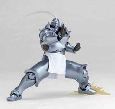 Figura Revoltech de Alphonse Elric del anime Fullmetal Alchemist