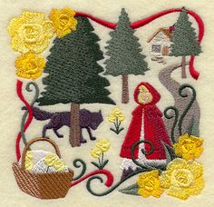 emblibrary.com, little red riding hood