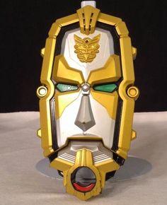 2012 Power Rangers Megaforce Mega Force Deluxe Gosei Morpher Card Reader Cosplay #Bandai