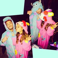 What frankie is wearing remainds me of something ariana wore