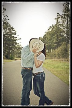 Western engagement photography