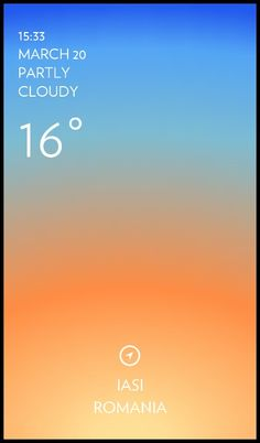 Iasi weather has never been cooler. Solar for Android. http://play.google.com/store/apps/details?id=com.itpositive.solar