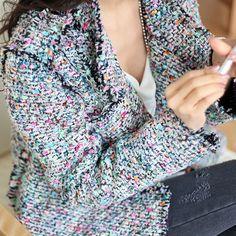 Bright Open Tweed Jacket by Secret2Girls