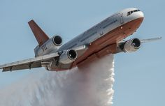 DC-10 from Cal fire Aviation Nation 2016 Nellis AFB.