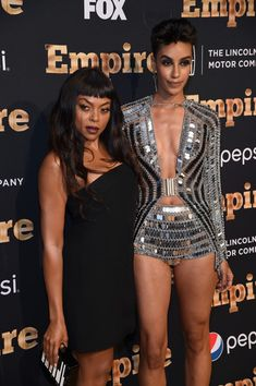 """'Empire' Series Season 2 New York Premiere - (L-R) Taraji P. Henson and Azmarie Livingston attend the """"Empire"""" Series Season 2 New York Premiere at Carnegie Hall on September 12, 2015 in New York City. (Sept. 11, 2015 - Source: Jamie McCarthy/Getty Images North America)"""