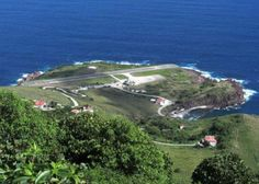 Juancho E. Yrausquin Airport – Saba Island   The last, but no less dangerous Juancho E. Yrausquin Airport, is the only airport on the Caribbean island of Saba. The airport is surrounded by high hills, and both ends of the runway by cliffs dropping into the sea.