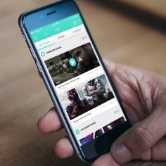 Video Mobile App Design - IOS