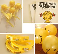 yellow party favours!