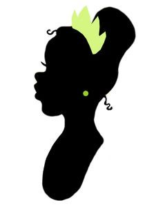 image result for princess and the frog silhouette
