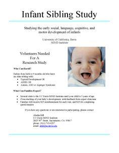 case study of the development of an infant with autism Read case study of the development of an infant with autism from birth to two years of age, journal of applied developmental.