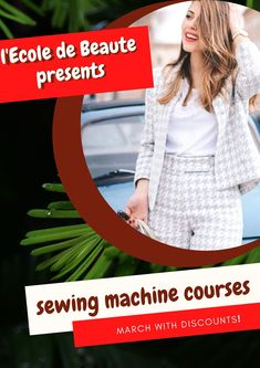 If you are a creative person and you do not leave the desire to constantly create, you can master the art of sewing. Have the knowledge and skills to work with a sewing machine, you will save time and effort. Sewing Courses, Sewing Class, School Fashion, Effort, Sewing Patterns, Knowledge, London, Create, Clothes
