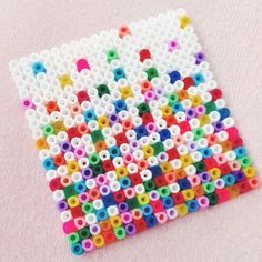 Hama bead design by sandracherryhrt Perler Bead Designs, Hama Beads Design, Pearler Bead Patterns, Perler Patterns, Hama Beads Coasters, Diy Perler Beads, Motifs Perler, Peler Beads, Iron Beads