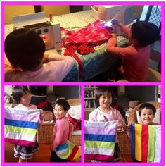 I had so much fun today teaching two very sweet sisters to sew, one is 7 and the other is just five. I had to place a stack of books on the floor so the littlest one could reach the foot control. They tried so hard and were both pining, sewing straight and managing the sewing machine. They were so thrilled with their new cushion covers. Well done girls you are both awesome. Cheers Fee http://mysewingclub.com/gold-coast-sewing-classes/