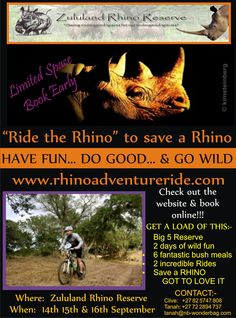 Ride for a cause! Rhino Poaching, Books Online, Have Fun, The Incredibles