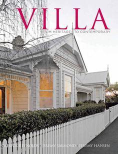 Love the colour of this villa