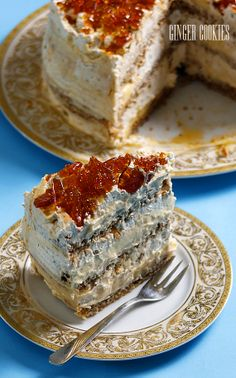 Ginger Cookies: Египетска торта