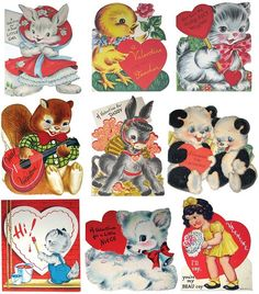 vintage valentine's day cards nothing like them, especially the ones with add-ons :) Valentine Greeting Cards, Vintage Valentine Cards, Be My Valentine, Vintage Cards, Vintage Holiday, Old Cards, Oui Oui, Baby Kind, Valentine's Day Diy
