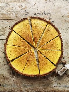 Just made the most delicious custard tart from scratch