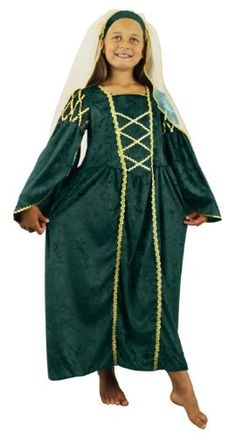 cool       £9.99  GREAT QUICK & EASY FANCY DRESS COSTUME AS PAST TIMES PRINCESS QUEENS MEDIEVAL MARIONS RENAISSANCE PRINCESSGIRLS TUDOR PRINCESS ...  Check more at http://fisheyepix.co.uk/shop/girls-tudor-princess-costume-fancy-dress-past-times-queen-childrens-medieval-princess-renaissance-school-curriculum-velour-dress-headpiece-with-veil-green-6-8-years/