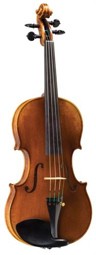 """The beloved Karl Joseph Schneider® Master Art violin had been one of the most teacher-recommended violins we ever offered. And no wonder: superb tone and balance, careful German craftsmanship and a wonderful """"Old German"""" antique varnish, all add up to a winner. Our careful shop setup and play testing assures that your new Schneider® violin will perform at its best as soon as it arrives in your home.   In a world of mass-produced merchandise that lacks """"that certain some..."""