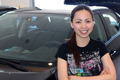 Kristina and her new Corolla S