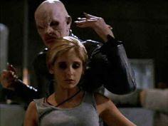 """Buffy killed by The Master in an alternate timeline 