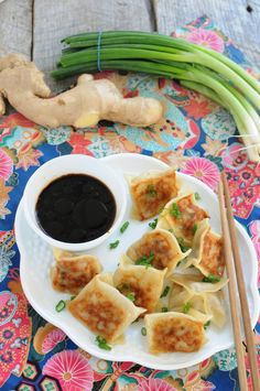 Quick to cook and delicious to eat! Potstickers are a family favorite!