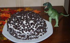DSC_0258 T Rex Cake, Random Stuff, Chocolate, Desserts, Food, Random Things, Tailgate Desserts, Deserts, Essen