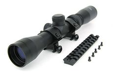 TacFire Black Blued 27x32 Long Eye Relie Scope wFree Scope Mount for Ruger 1022 1022 1022  A Pair of Scope Rings -- To view further for this item, visit the image link.