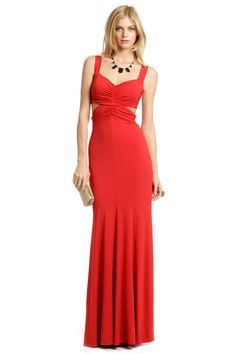 Santa Fe Cutout Gown by Narciso Rodriguez. Rent The Runway