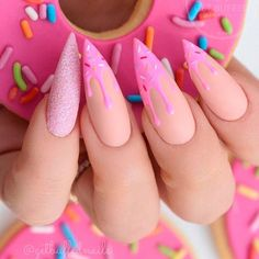 Sexuality Acrylic Stiletto Nails In 2019 Summer - Nail Art Connect What is the best choice of summer manicures? Of course, stiletto nails are the first. Best Acrylic Nails, Summer Acrylic Nails, Summer Nails, Spring Nails, Summer Stiletto Nails, Stiletto Nail Art, Stiletto Nail Designs, Acrylic Nail Designs For Summer, Cheetah Nail Designs