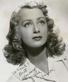 June Havoc was a Canadian-born American actress, dancer, writer, and theater director. Havoc was a child Vaudeville performer under the tutelage of her mother. sister of Gypsy Rose Lee (My Sister Eileen, Follow the Sun, General Hospital)  1912-2010