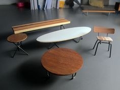 mini furniture. amazing mini modern furniture via one forty three