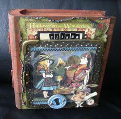 caixa livro da alice