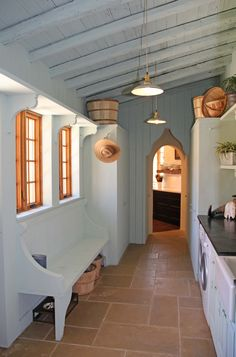 Southern Living idea home laundry room