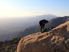 Santa Barbara's Cathedral Peak hike
