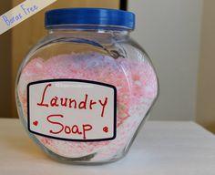Jabon polvo lavadora sin borax