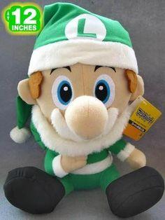Super Mario Bros Luigi Plush Doll MLPL9134
