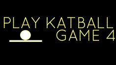 Play Katball: Game Four! http://www.katball.com/playgamefour Colors featured: #black #pink #beige