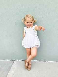Items similar to Bubble Shorts Toddler Romper Lavender Posies on Etsy Little Kid Fashion, Baby Girl Fashion, Toddler Fashion, Kids Fashion, Spring Fashion, Fashion Ideas, Fashion Trends, Big Kids, Cute Kids