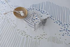 Olives, Tableware, Etsy, Ink, Hands, Cotton, Dinnerware, Tablewares, Dishes