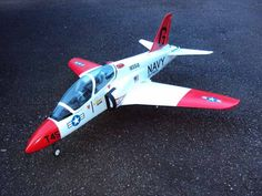 This is my little T45 Goshawk Radio controlled Jet.